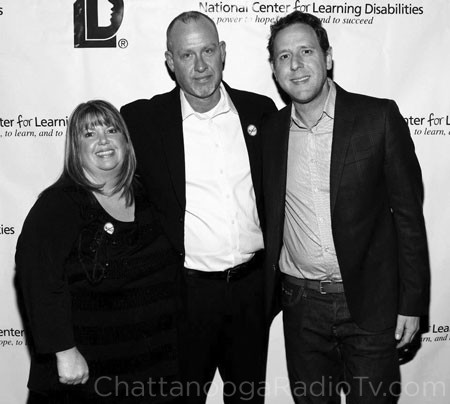 Tina and David Long, with filmmaker Lee Hirsch