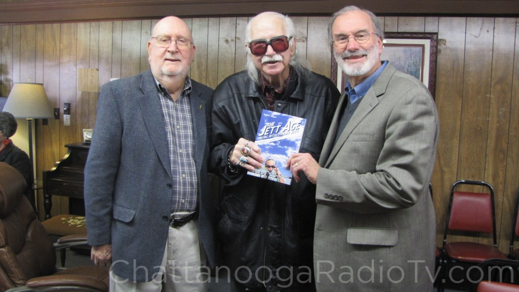 Johnny Eagle, Tommy Jett and Ralph Vaughn at book signing, Jan. 10, 2015