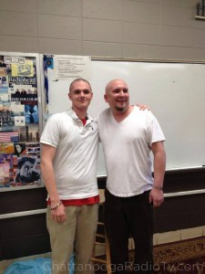 "Chris and Mr. Daum ""after"""