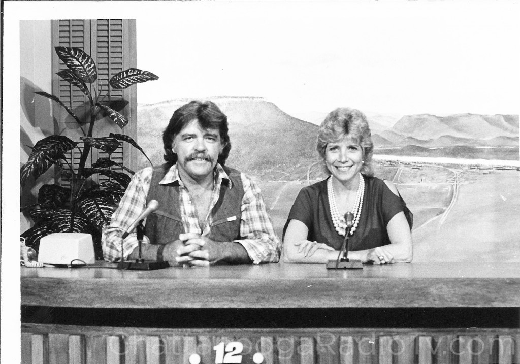 "Don Welch & Judy Corn on ""The Morning Show"" in 1982."