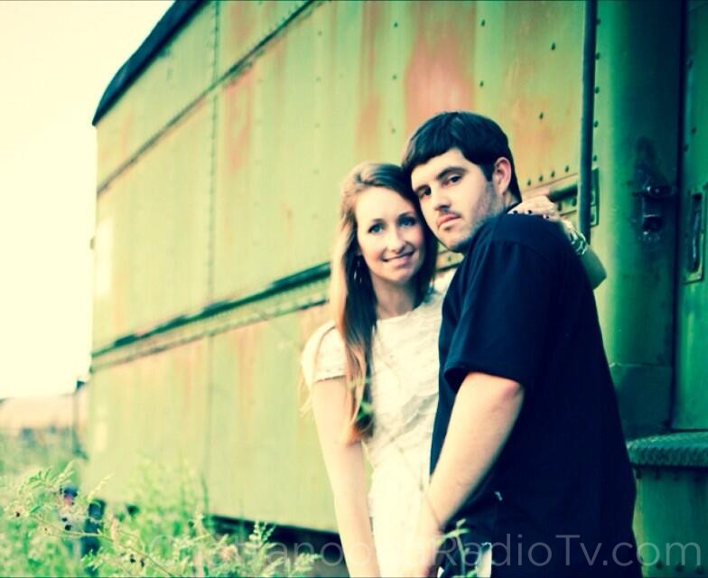 Brittany Huber and John Redman, engagement photo: 2013.