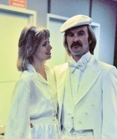 Peggy and Bruce in 1977