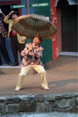 "Jed Mescon in ""Guys and Dolls,"" 2009"