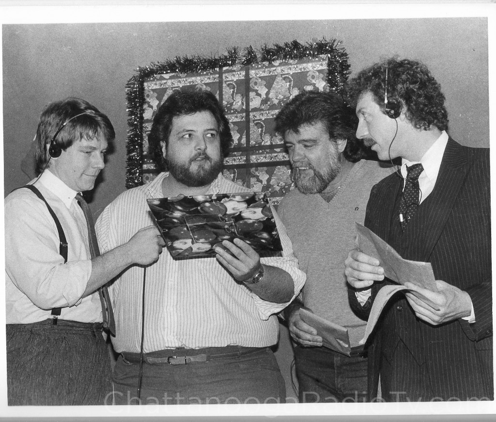 Dale Deason, David Hughes, Don Welch and Garry Mac in the 1980s
