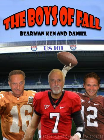 Ken Hicks, Bearman, and Daniel Wyatt