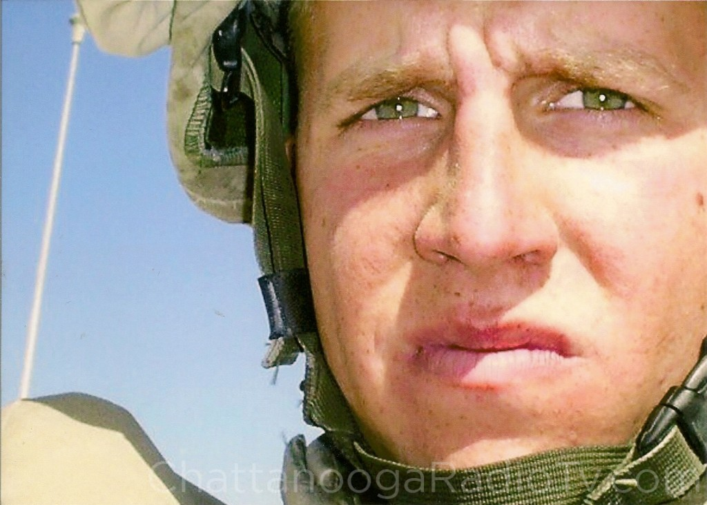 Nathan Rogers in Iraq