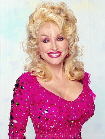 Dolly Parton, all done up