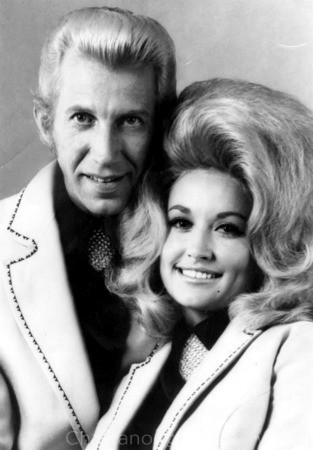 Porter Wagoner and Dolly Parton in the 1960s