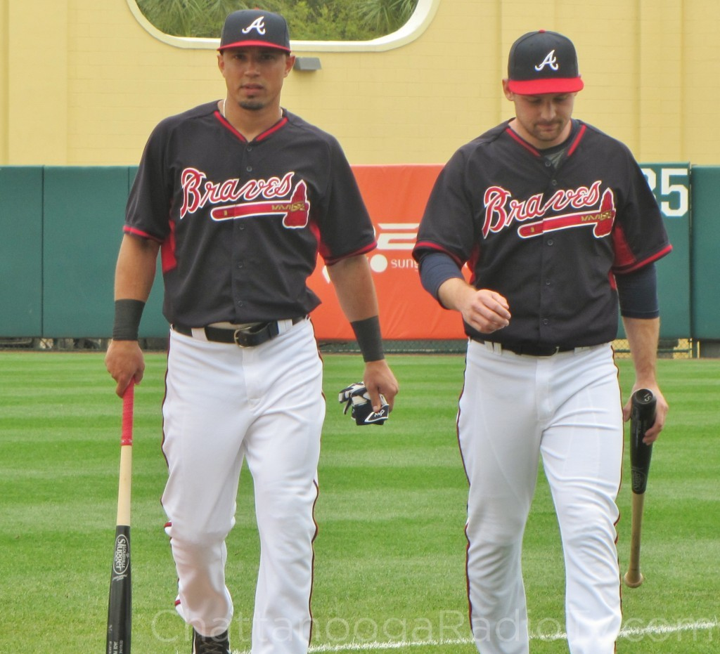 New 2nd baseman Jace Peterson and utility player Phil Gosselin