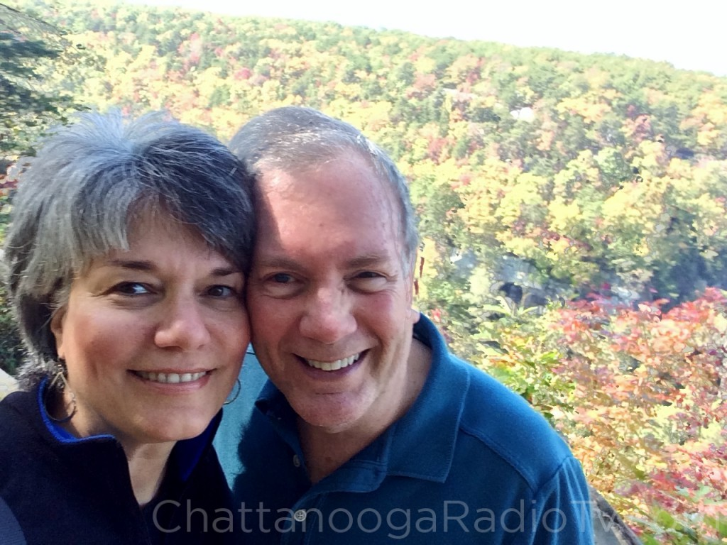 With my wife Cindy, October 21, 2015